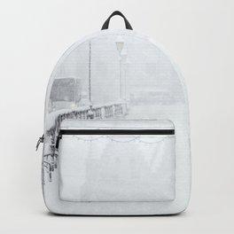 Winter Walk (Black and White) Backpack