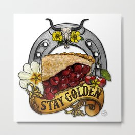 You're PIE-FECT, Just As You Are Metal Print