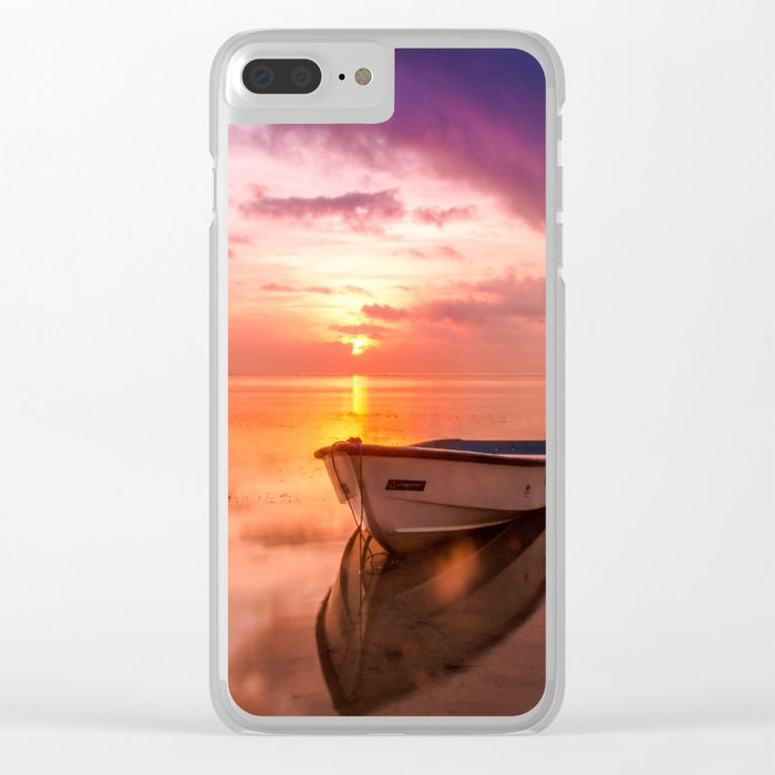 The Best Sunset Clear iPhone Case