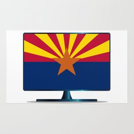 Arizona Flag TV Rug