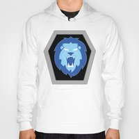 hologram Hoodies featuring Visionaries Lion by cardboardLAB