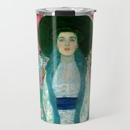 "Gustav Klimt ""Portrait of Adela Bloch-Bauer"" II Travel Mug"