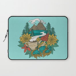 Pacific Northwest Coffee and Nature Laptop Sleeve