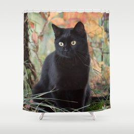 Autumn Jade Shower Curtain