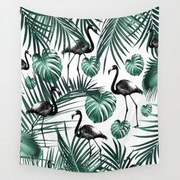 Tropical Flamingo Pattern #6 #tropical #decor #art #society6 Wall Tapestry