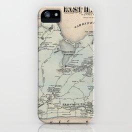 Map of East Hampton 1873 iPhone Case