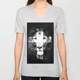 JESUS Lion of Judah Unisex V-Neck