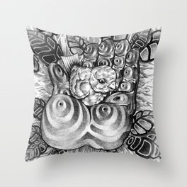 Safety Nest Throw Pillow