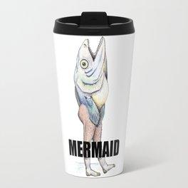 A Really Horrible Mermaid Travel Mug