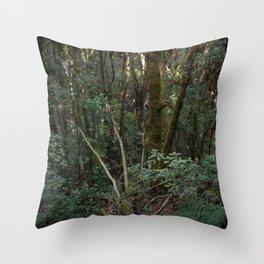 Greenscape Throw Pillow