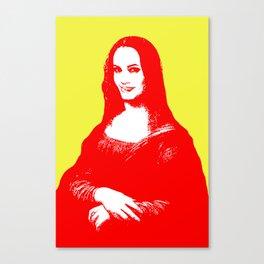 Monalisa Jolie Canvas Print