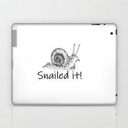 Snailed it! Laptop & iPad Skin