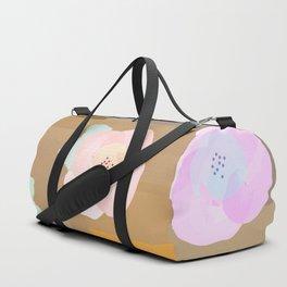 Watercolor Flowers Duffle Bag