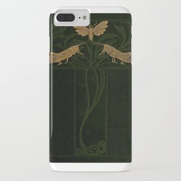 Art Nouveau Insects iPhone Case