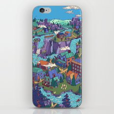 Try Not to Step on Anything This Time iPhone Skin