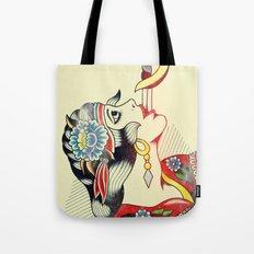 Sword Magic Girl Tote Bag
