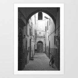 Marrakesh Alley Art Print