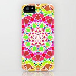 floral mandala iPhone Case