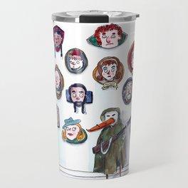 Whatever Happened to the Peanut Gallery? Travel Mug