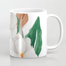White Magnolia Bouquet I Coffee Mug