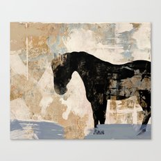 Modern Day Horse Canvas Print