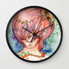 melting slowly Wall Clock