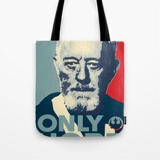 OBI WAN the Only Hope Tote Bag