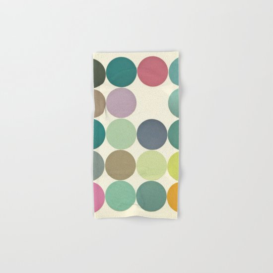 Circles I Hand & Bath Towel