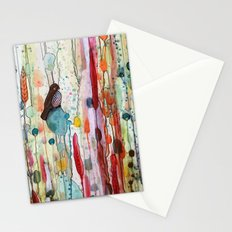 sur la route Stationery Cards