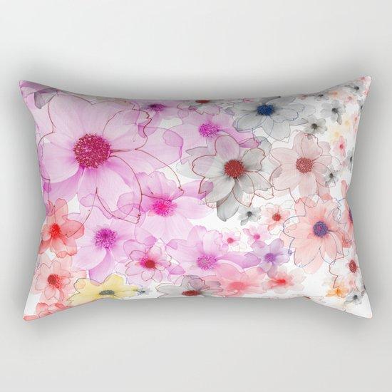 Flower carpet(36). Rectangular Pillow