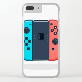 Switch Controller Clear iPhone Case