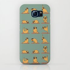 Pug Yoga Slim Case Galaxy S8
