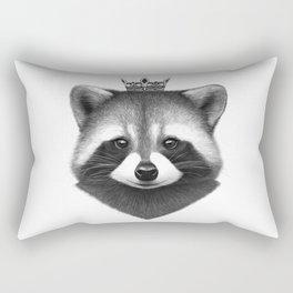 Queen raccoon Rectangular Pillow