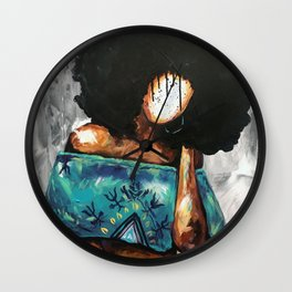 Naturally Rhonda Wall Clock