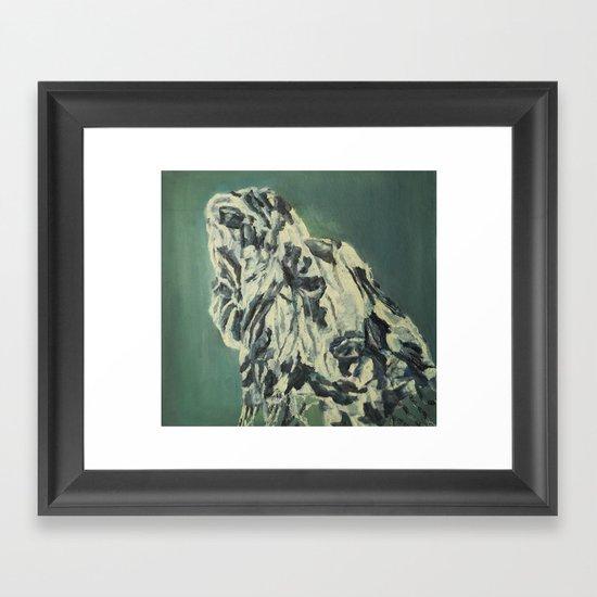 A Gloomy day Framed Art Print