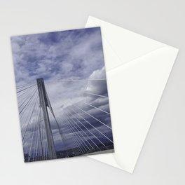 Port Mann Bridge Vancouver BC Stationery Cards