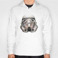 stormtrooper Hoodies featuring Stormtrooper by beart24