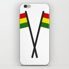 Bolivia flag iPhone Skin