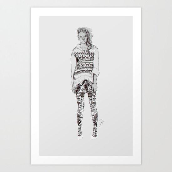 Bellgrey Art Print