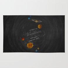 Wanderers - Carl Sagan Rug