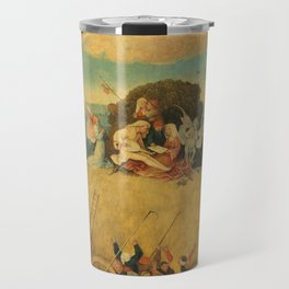 The Haywain Triptych - Hieronymus Bosch Travel Mug