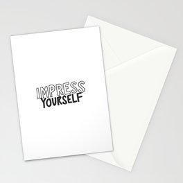 IMPRESS YOURSELF Stationery Cards