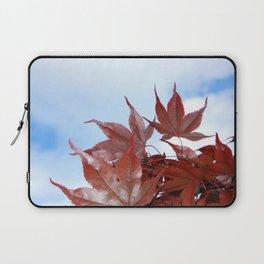 red leaf sky Laptop Sleeve