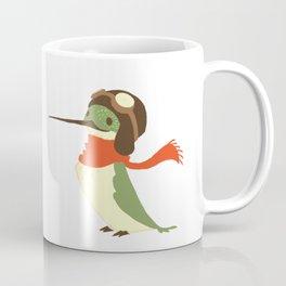 Aviator Hummingbird Coffee Mug
