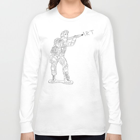 Military Art Long Sleeve T-shirt