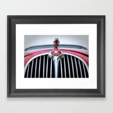 Jaguar car Framed Art Print
