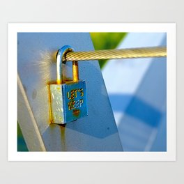 Love Locks 2012 40 Art Print