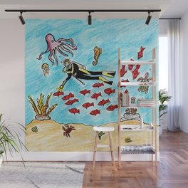 So Much To Sea Wall Mural