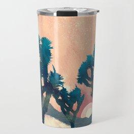 Sunset Desert Canyon Travel Mug