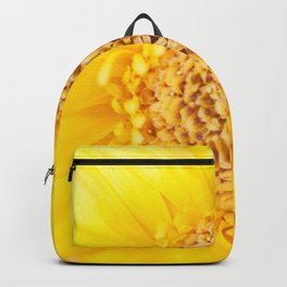 Sunny Summer Love - Yellow Gerbera #1 #decor #art #society6 Backpack